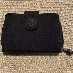 """Kipling tri-fold wallet (black, 4""""x6""""x1.5"""")"""